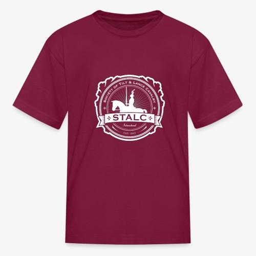 STALC Logo White only - Kids' T-Shirt