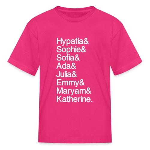 Women in Mathematics (no space before &) - Kids' T-Shirt