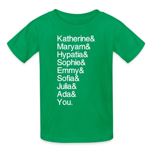 Women in Math (& You!) - Kids' T-Shirt