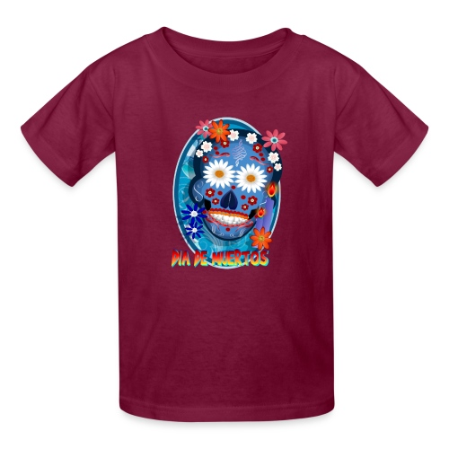 Day Of The Dead. October 31 and leave on November - Kids' T-Shirt