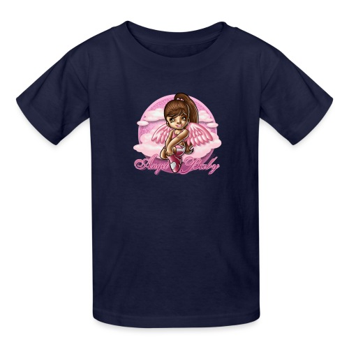 Angel Baby by RollinLow - Kids' T-Shirt