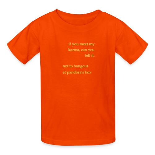 meet karma - Kids' T-Shirt