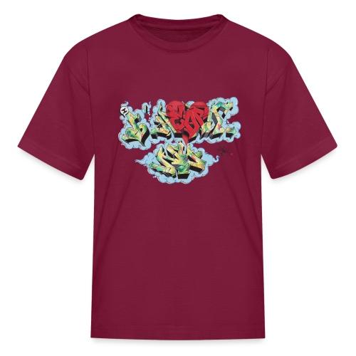 Nover - Design for New York Graffiti Color Logo - Kids' T-Shirt