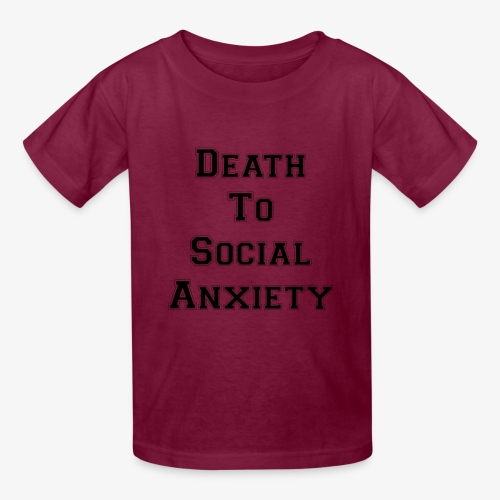 Death To Social Anxiety OG - Kids' T-Shirt