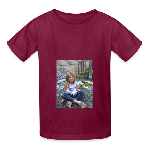bianka the egg tshirt - Kids' T-Shirt