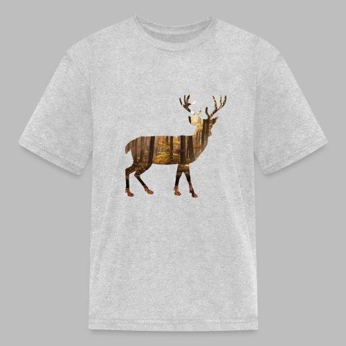 deer silhoutte - Kids' T-Shirt