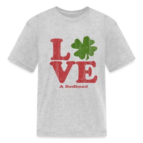 Love A Redhead - Kids' T-Shirt
