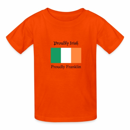 Proudly Irish, Proudly Franklin - Kids' T-Shirt