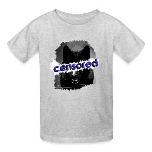 Wolf censored - Kids' T-Shirt
