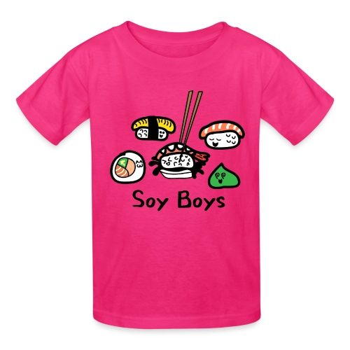 Soy Boys Kawaii Sushi - Anime / Manga Chibi Design - Kids' T-Shirt