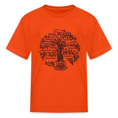 Yggdrasil - The World Tree - Kids' T-Shirt