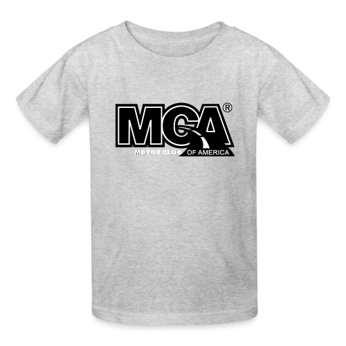 MCA Logo WBG Transparent BLACK TITLEfw fw png - Kids' T-Shirt