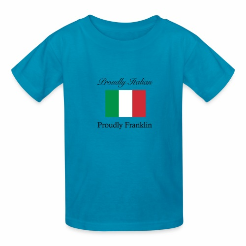 Proudly Italian, Proudly Franklin - Kids' T-Shirt