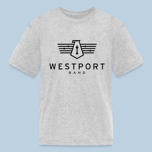Westport Band Back on transparent - Kids' T-Shirt