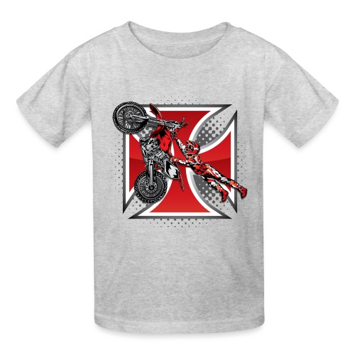Red Baron Motocross - Kids' T-Shirt