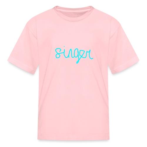 SINGER - Kids' T-Shirt