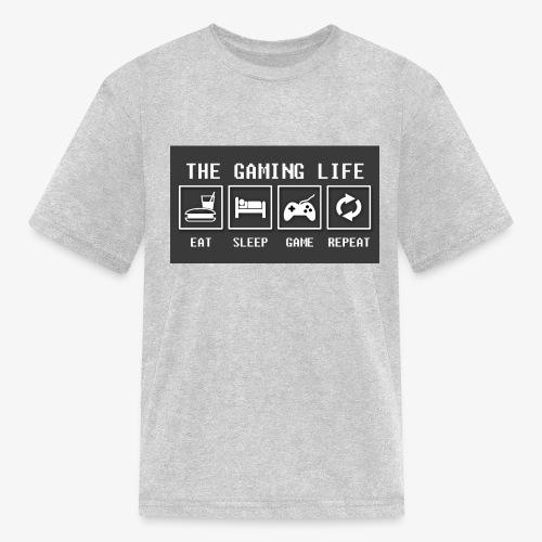 Gaming is life - Kids' T-Shirt