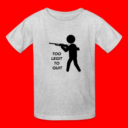 OxyGang: Too Legit To Quit Products - Kids' T-Shirt