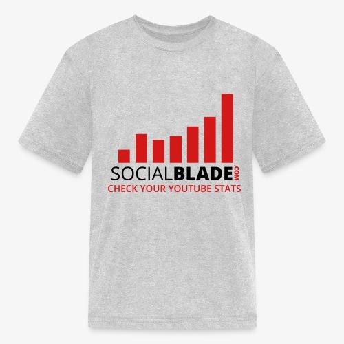 Traditional Logo Tagline - Kids' T-Shirt