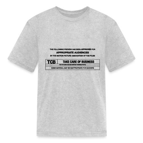 TCB Films Disclamer - Kids' T-Shirt