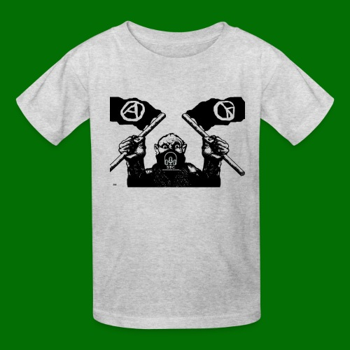 anarchy and peace - Kids' T-Shirt