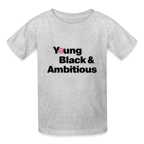 YBA white and gray shirt - Kids' T-Shirt
