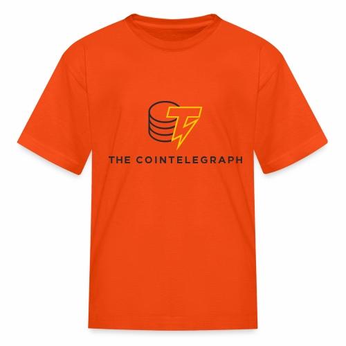 cointelegraph branding - Kids' T-Shirt