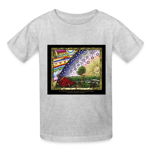 Flammarion Engraving - Colored - Kids' T-Shirt