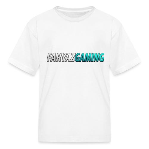 FaryazGaming Theme Text - Kids' T-Shirt
