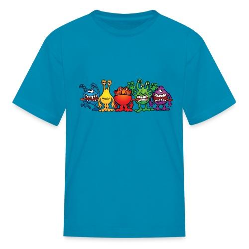 Alien Friends - Kids' T-Shirt