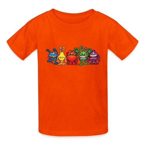 Alien Friends - Kids' T-Shirt