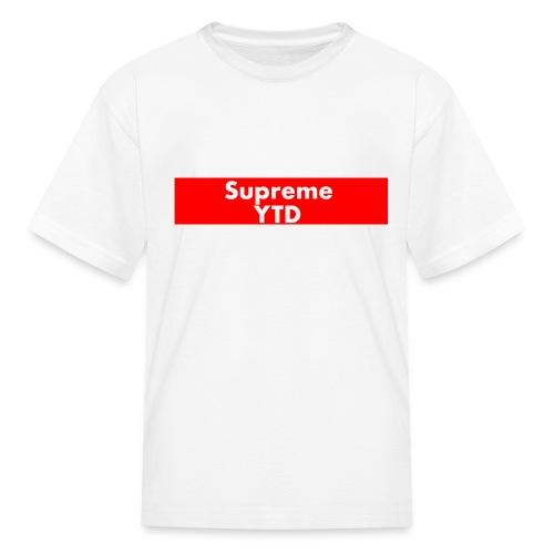 supreme ytd - Kids' T-Shirt
