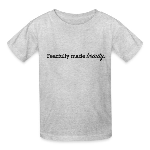 fearfully made beauty - Kids' T-Shirt