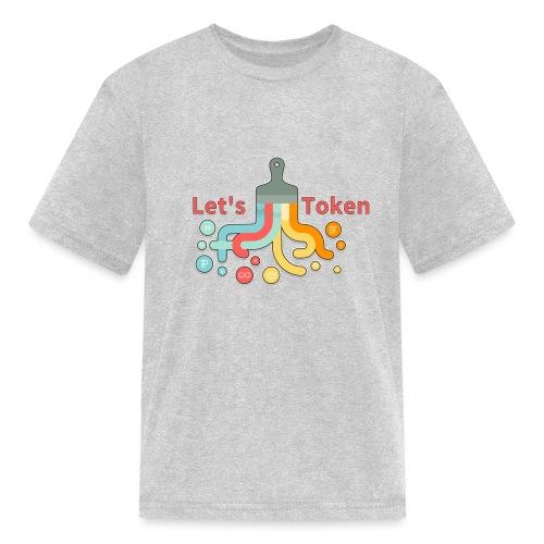 Let's Token by Glen Hendriks - Kids' T-Shirt