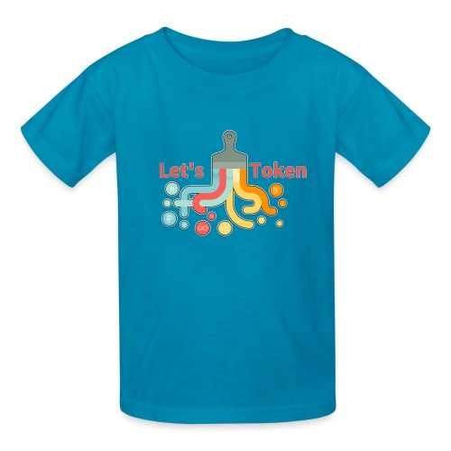 Let's Token by Glen Hendriks - Kids' T-Shirt