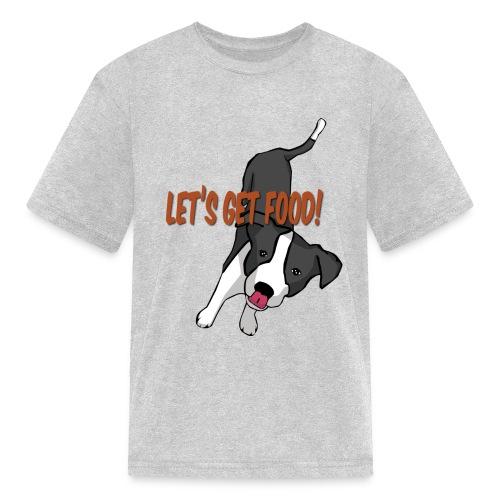 Foodie Dog Border Collie - Kids' T-Shirt