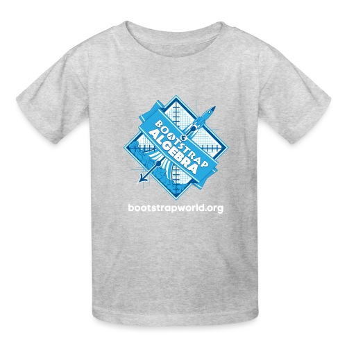Bootstrap:Algebra T-shirt - Kids' T-Shirt