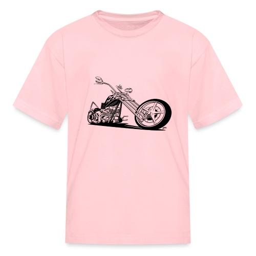 Custom American Chopper Motorcycle - Kids' T-Shirt