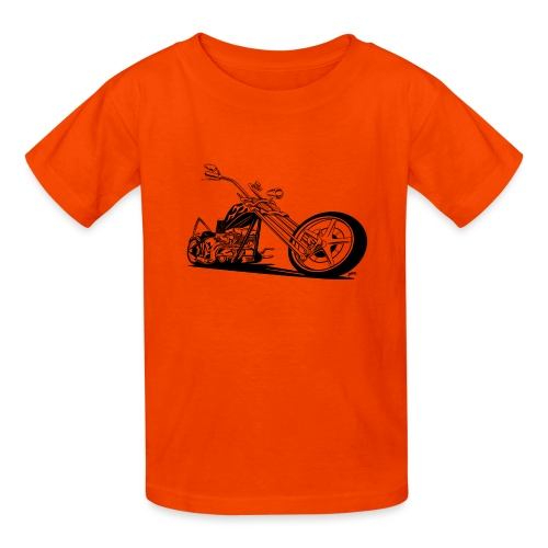 Custom American Chopper Motorcycle - Kids' T-Shirt