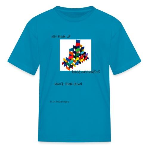 Hi I'm Ronald Seegers Collection-(transparent) - Kids' T-Shirt