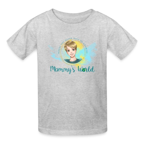 Mommys World Alternate Logo - Kids' T-Shirt