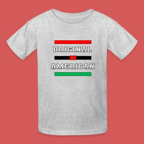 Original American Bars Moorish American Flag - Kids' T-Shirt