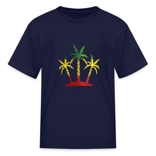 Palm Tree Reggae - Kids' T-Shirt