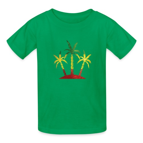 Palm Tree Reggae - Kids' T-Shirt