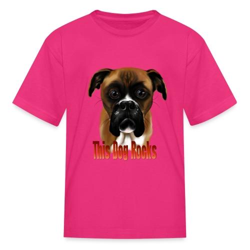 This Dog Rocks - Kids' T-Shirt