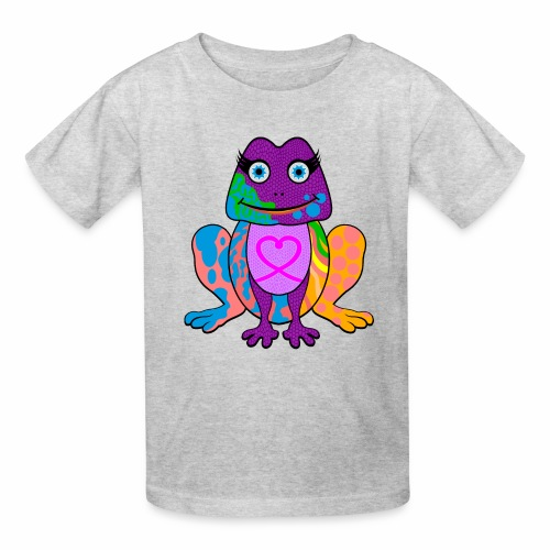 I heart froggy - Kids' T-Shirt