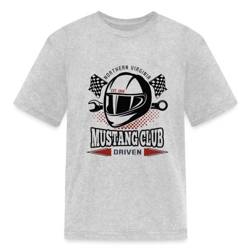 Race Helmet - Kids' T-Shirt