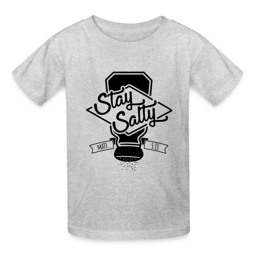 Stay Salty Black - Kids' T-Shirt