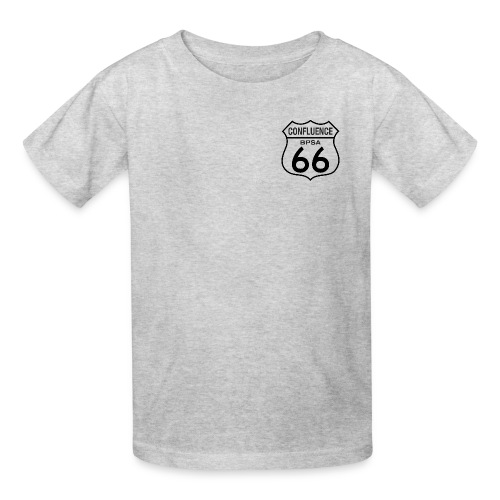 66thConfluenceSign outlines png - Kids' T-Shirt