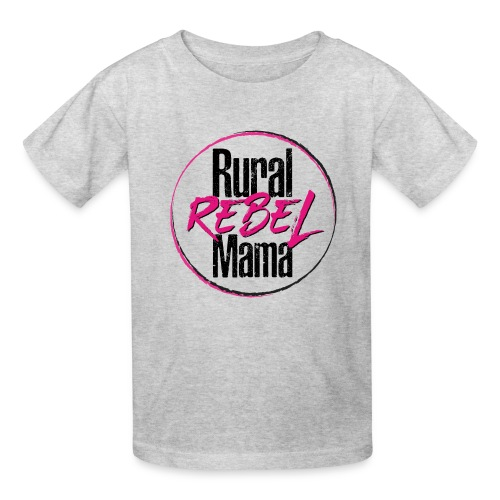 Rural Rebel Mama Logo - Kids' T-Shirt
